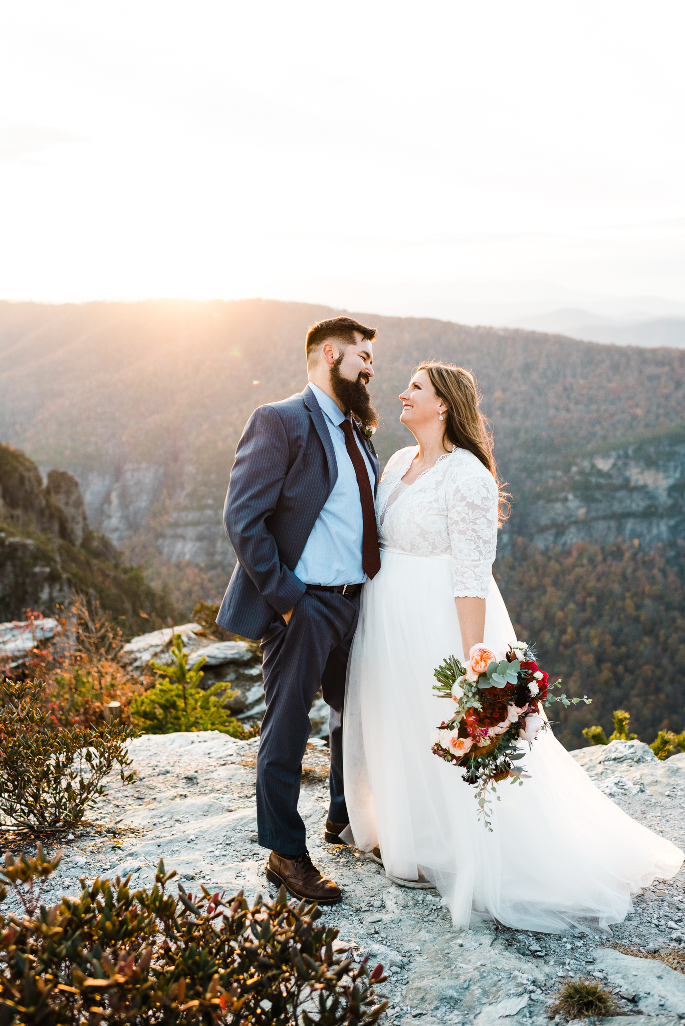 Easterday Creative | Adventurous wedding photographer and visual storyteller for rad people and unique brands | Blue Ridge Mountains elopement, North Carolina