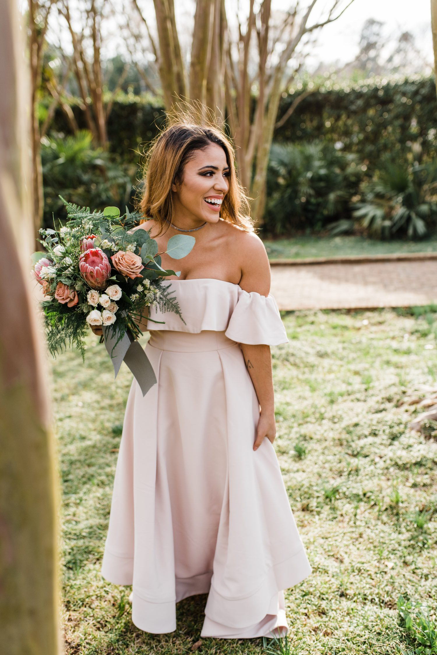 Eco-friendly Bridal Styled Shoot | Daniel Stow Botanical Garden | Easterday Creative | Adventurous wedding photographer and storyteller