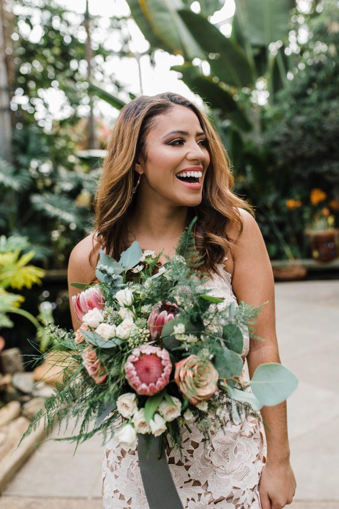 Easterday Creative, Adventurous Wedding Photographer and Storyteller, Eco-Friendly Bridal Shoot, Daniel Stowe Botanical Garden, South Carolina