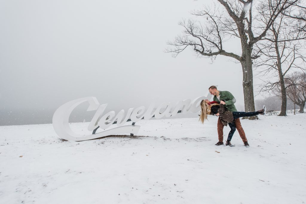 Emily and Ryan have made countless memories in Cleveland throughout the years. So when they asked to take photos at some of their most treasured places, I said,