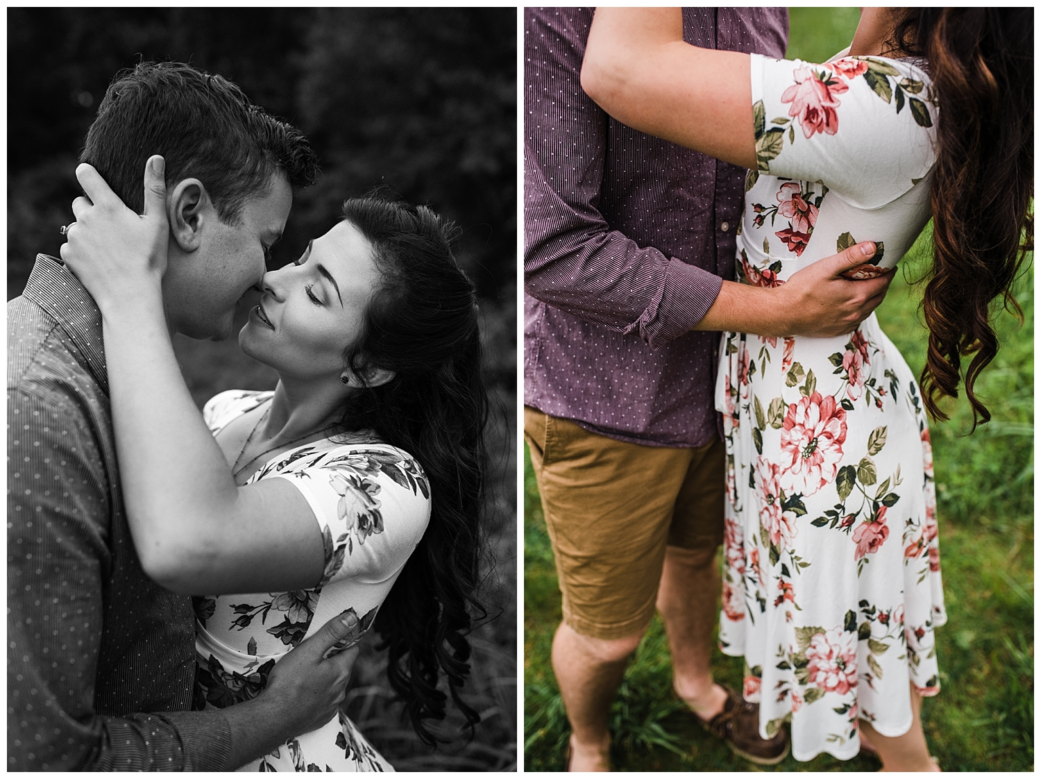 Easterday Creative | Adventurous Wedding Photographer and Storyteller | Serving NC, SC and beyond! | Maria + Cory | Cuyahoga Valley Vineyard Engagement
