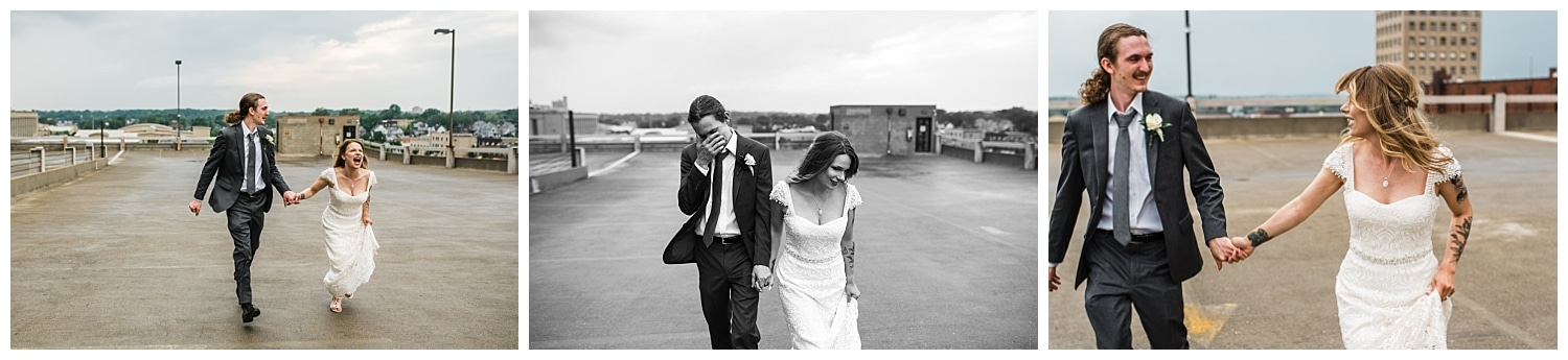 Cass + Reed | Intimate + Modern Ohio Wedding