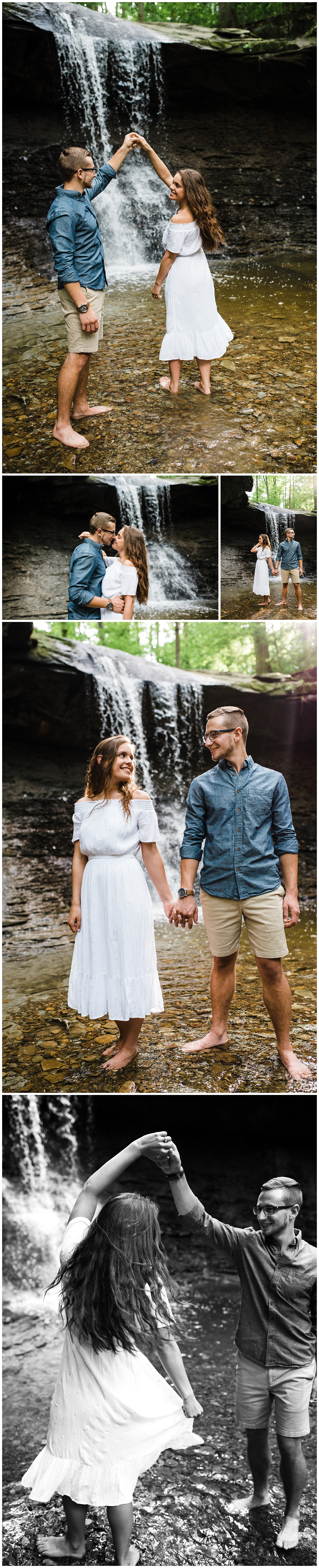 Easterday Creative | Adventurous wedding photographer and storyteller | Serving NC, SC and beyond! | Olivia + Ross | Adventurous Blue Hen Falls Engagement
