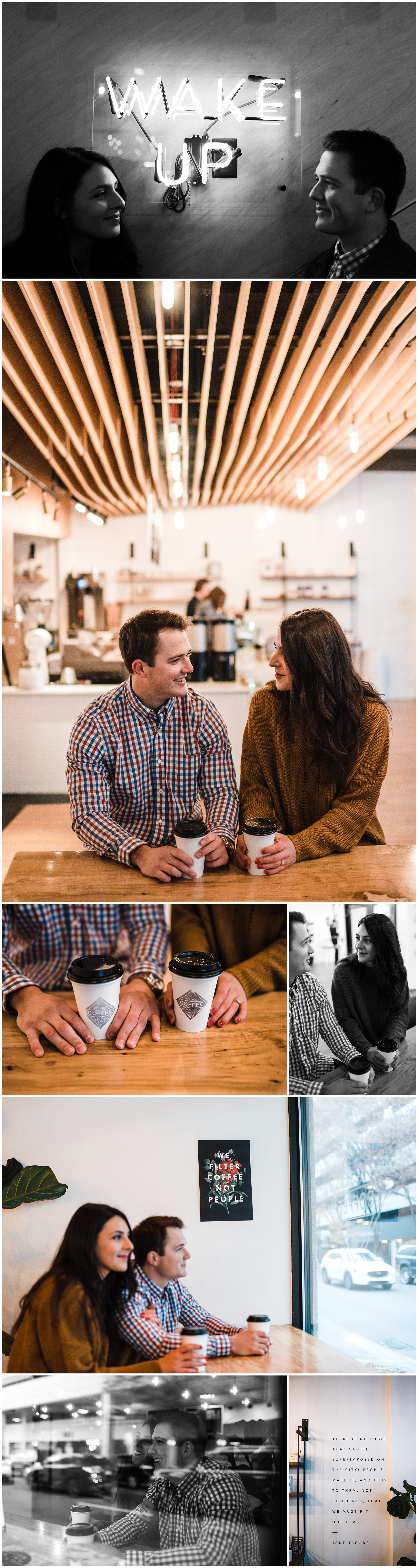 Easterday Creative | Adventurous wedding photographer and storyteller | Rachel + Evan | Uptown Charlotte Sunrise Session | Charlotte, NC