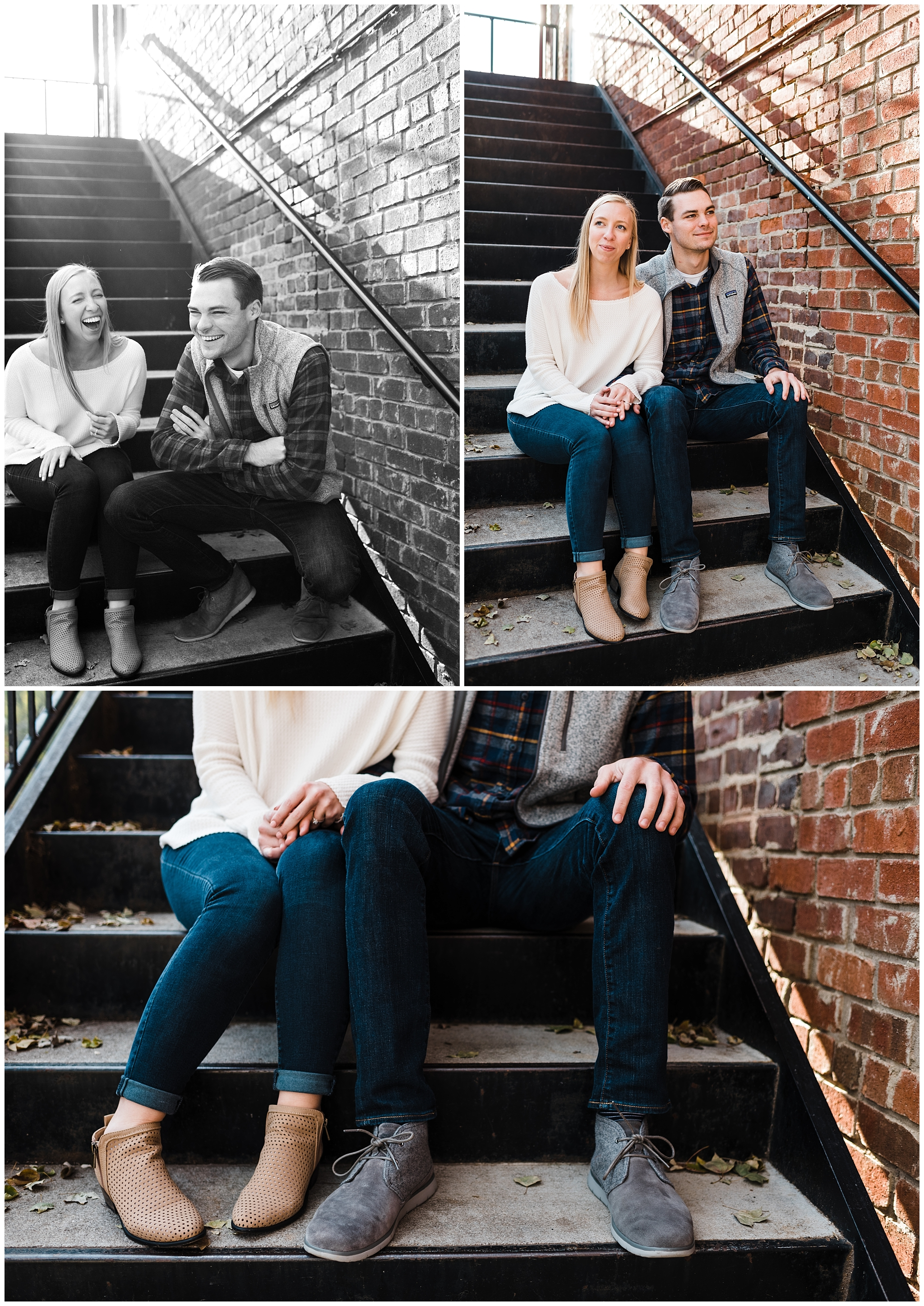 Easterday Creative | Adventurous wedding photographer and storyteller | Alyssa + James | Adventurous Charlotte Engagement | Charlotte, NC