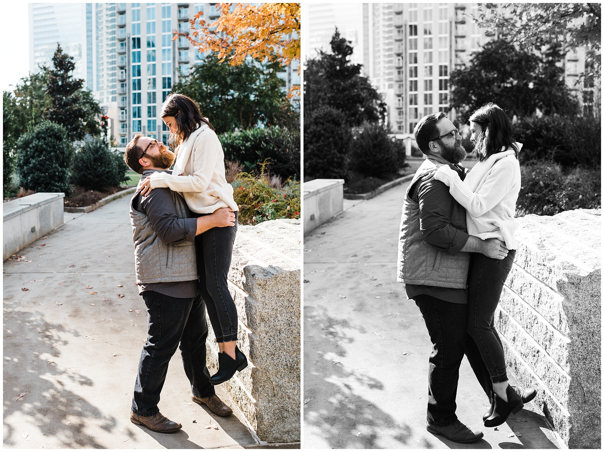 Easterday Creative | Adventurous wedding photographer and storyteller | Jess + Eric | Queen City Anniversary Session | Charlotte, NC