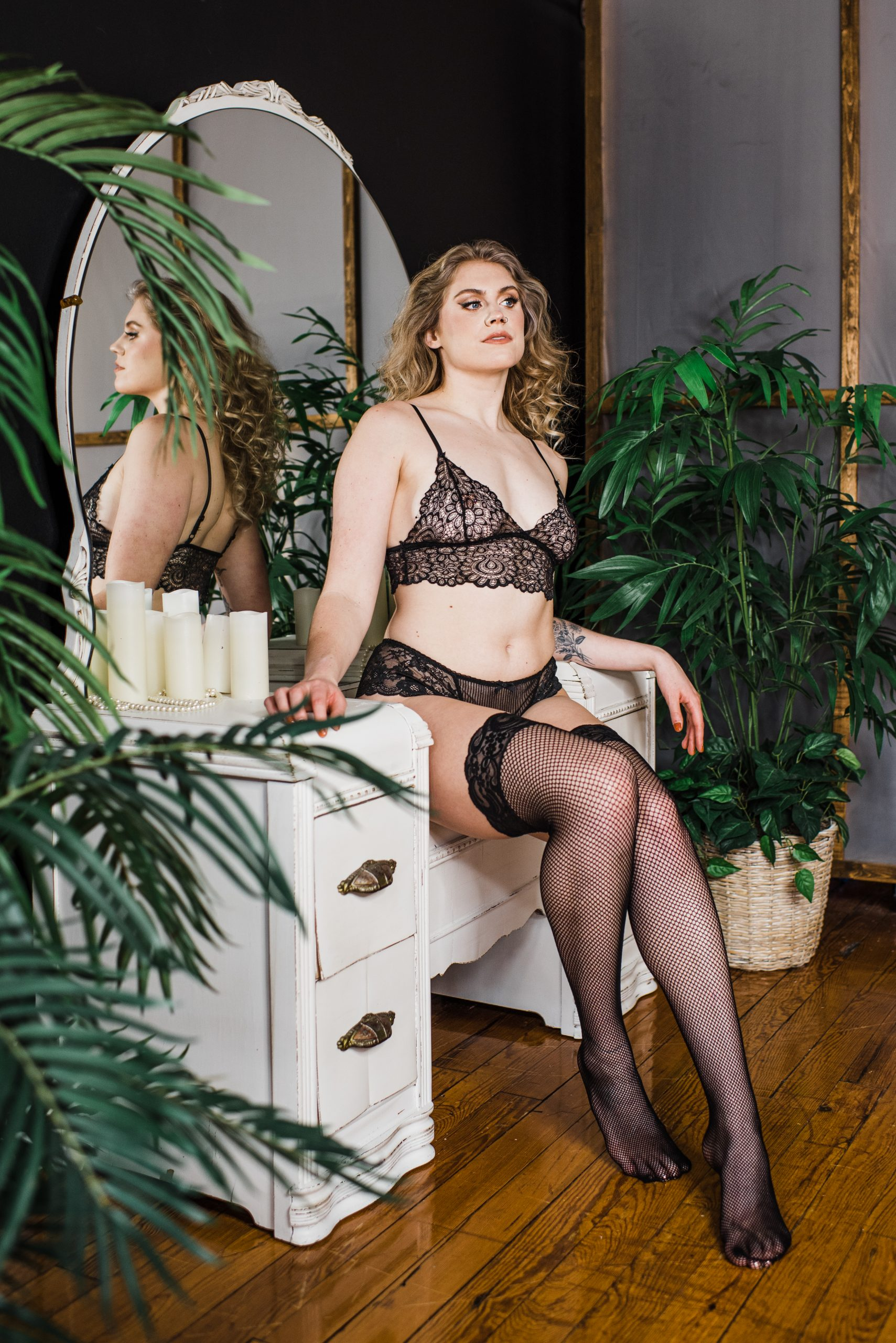 Boudoir and empowerment photography by Easterday Creative | Editorial photographer and visual storyteller for rad humans and unique brands | Charlotte, NC