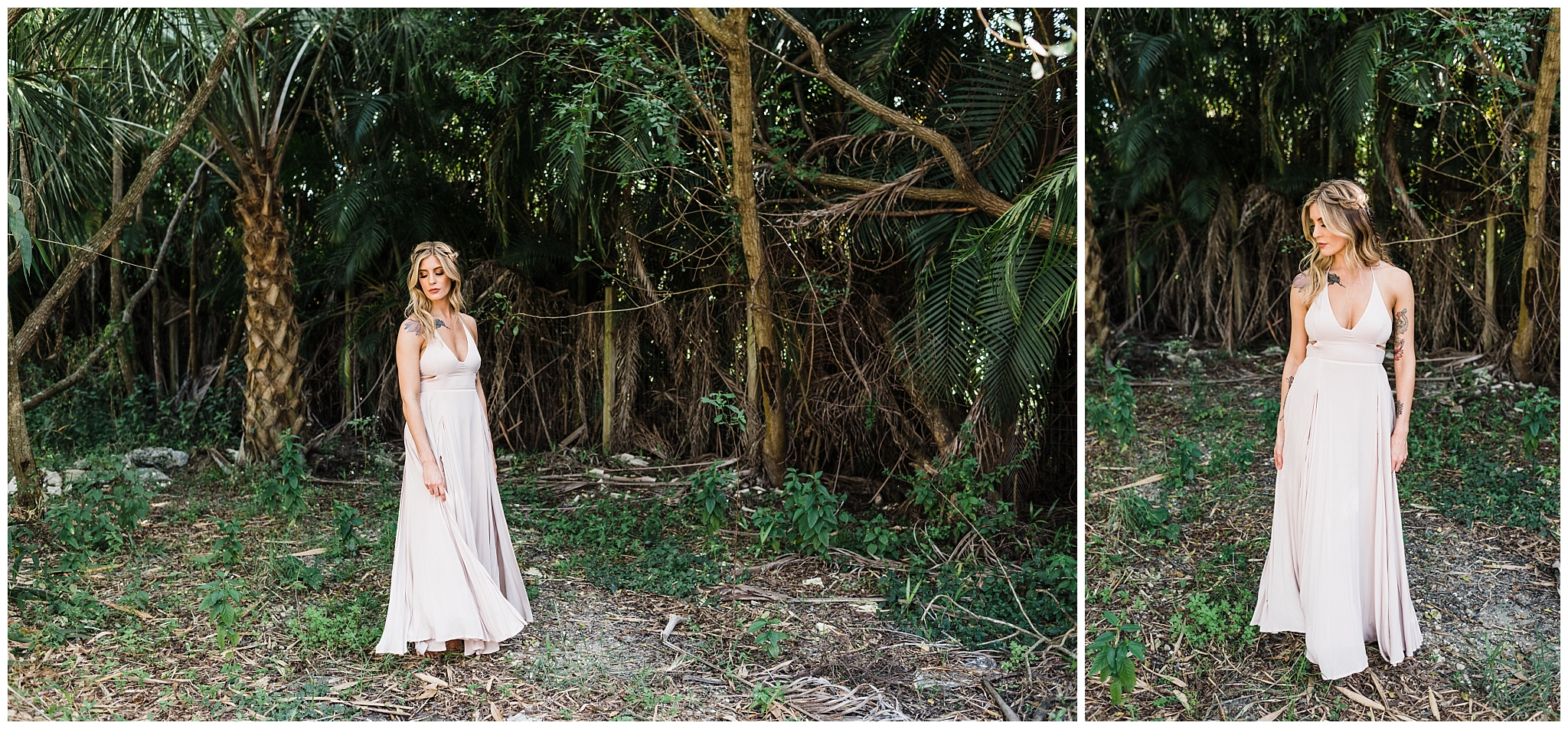 Easterday Creative | Adventurous wedding photographer and visual storyteller | The Peaceful Palm Fashion Editorial