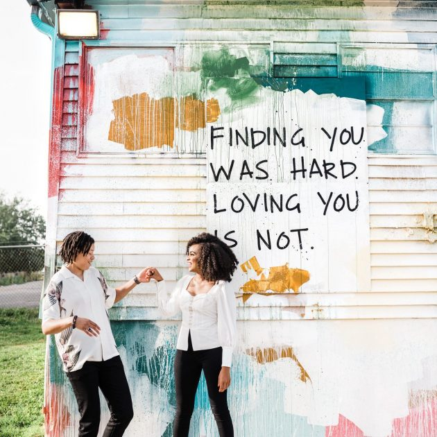 Brianna + Whitney | Camp North End Couple's Session by Easterday Creative | Charlotte, NC